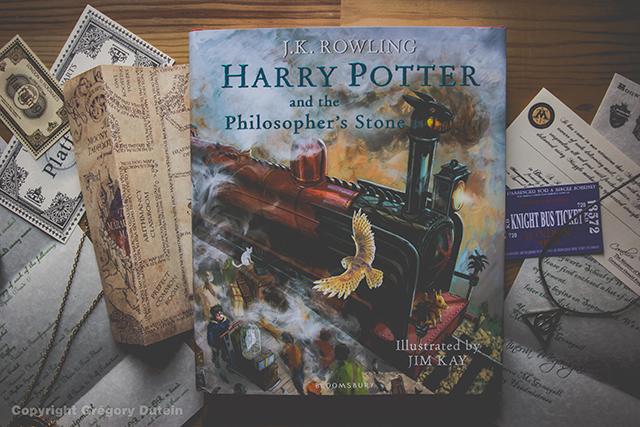 Presentation Harry Potter La Version Illustree V O