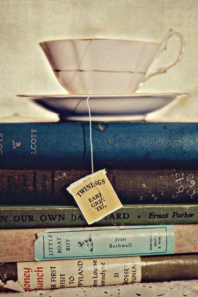Un Earl Grey et des livres, what else ?