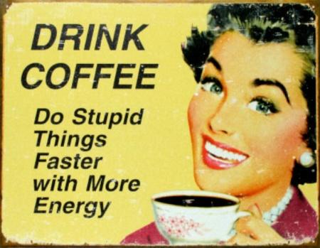 vintage coffee shop sign 2