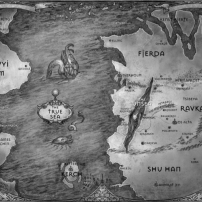 Map Six of Crows