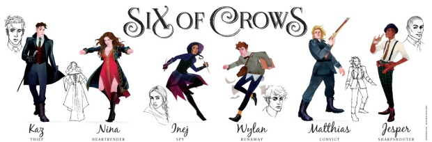 Personnages six of crpws