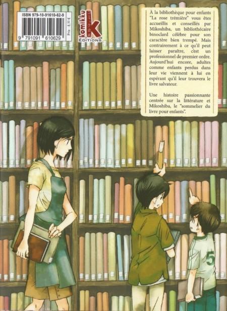 Le maitre des livres tome 01 verso