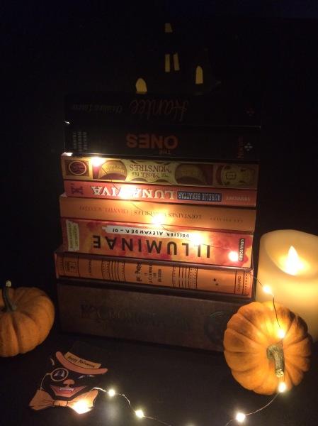 Pile aux couleurs d'Halloween