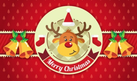 red-christmas-background-with-ornaments-and-a-reindeer_23-2147575269
