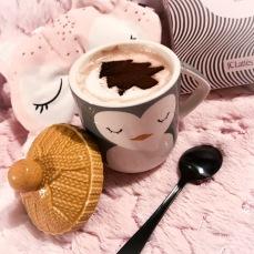 Mocha latte art