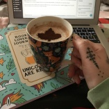 Reading log, maisons du monde, café