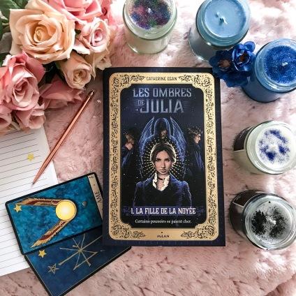 Les ombres de Julia, photo de BettieRose books pour instagram