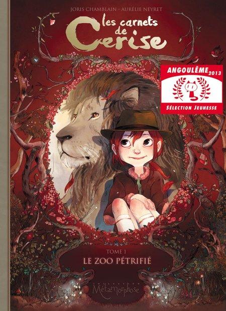 Tome 1 BD Les Carnets de Cerise
