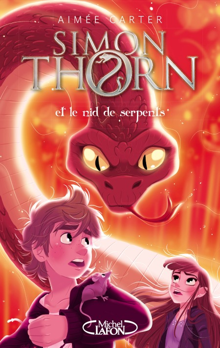 Couverture Simon Thorn et le nid de serpents